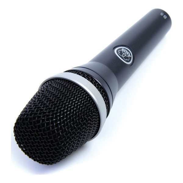 AKG D5 S Dynamic Lead Vocal Mic + Switch - Angled