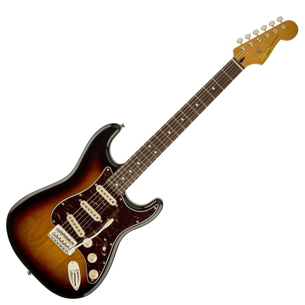 Squier Classic Vibe 60s Stratocaster, 3-Tone Sunburst