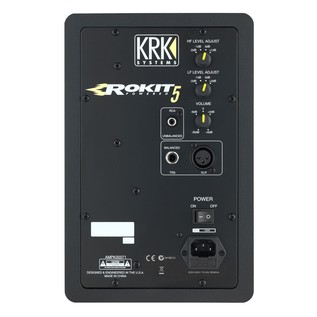 KRK Rokit RP5 G3 Active Monitors with Passive Monitor Controller