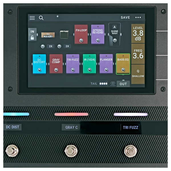 HeadRush Pedalboard Multi FX Processor