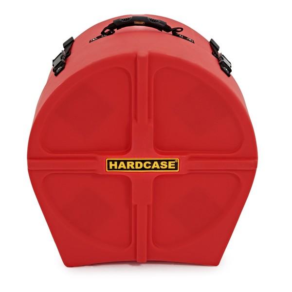 "Hardcase 16"" Floor Tom Case, Red"