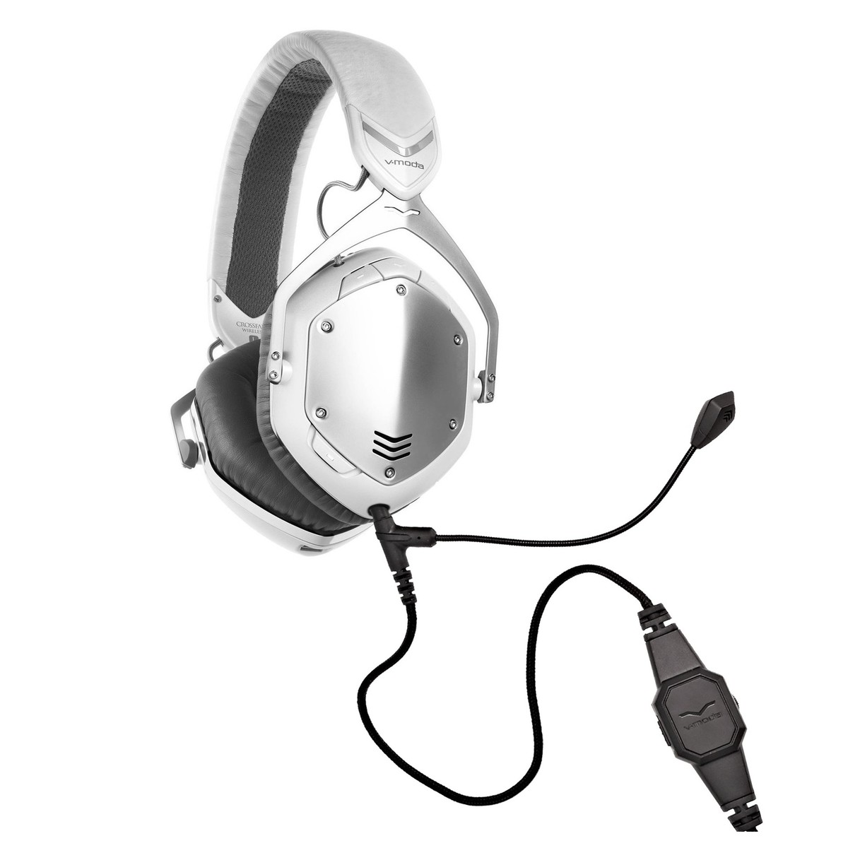 V Moda Crossfade Wireless Gaming Headset White Silver At Gear4music