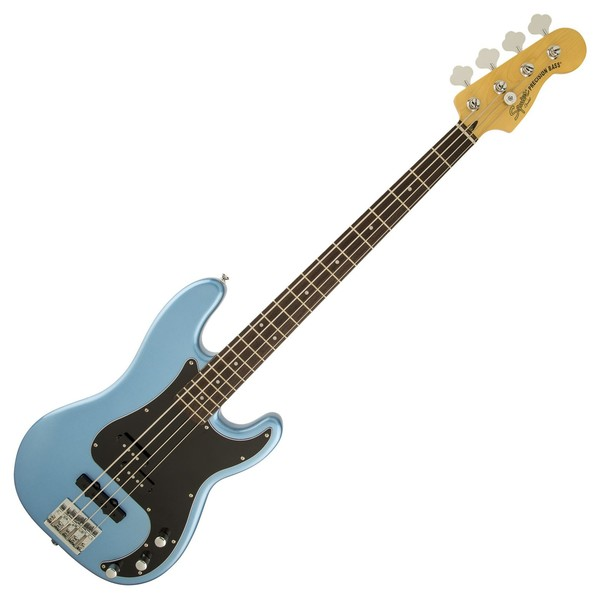 squier vintage modified precision bass pj lake placid blue at gear4music. Black Bedroom Furniture Sets. Home Design Ideas
