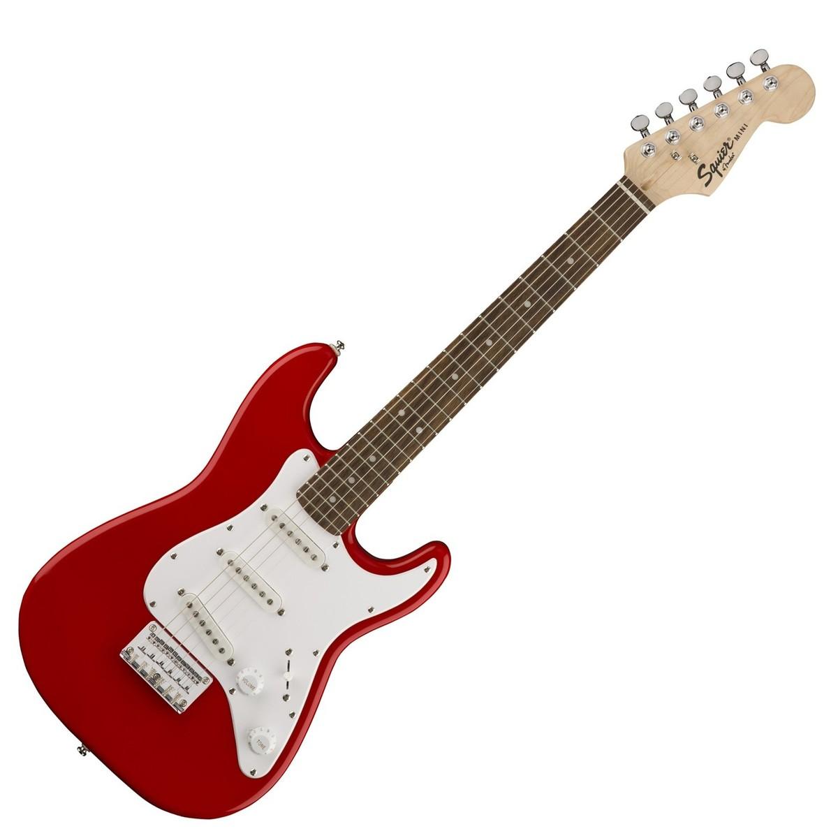 Squier Mini Stratocaster 3/4 Size, Torino Red