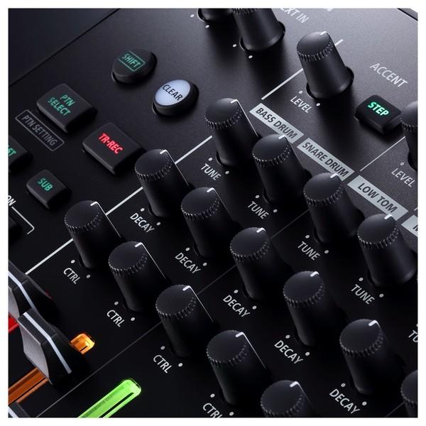 TR-8S Rhythm Performer - Knobs Detail