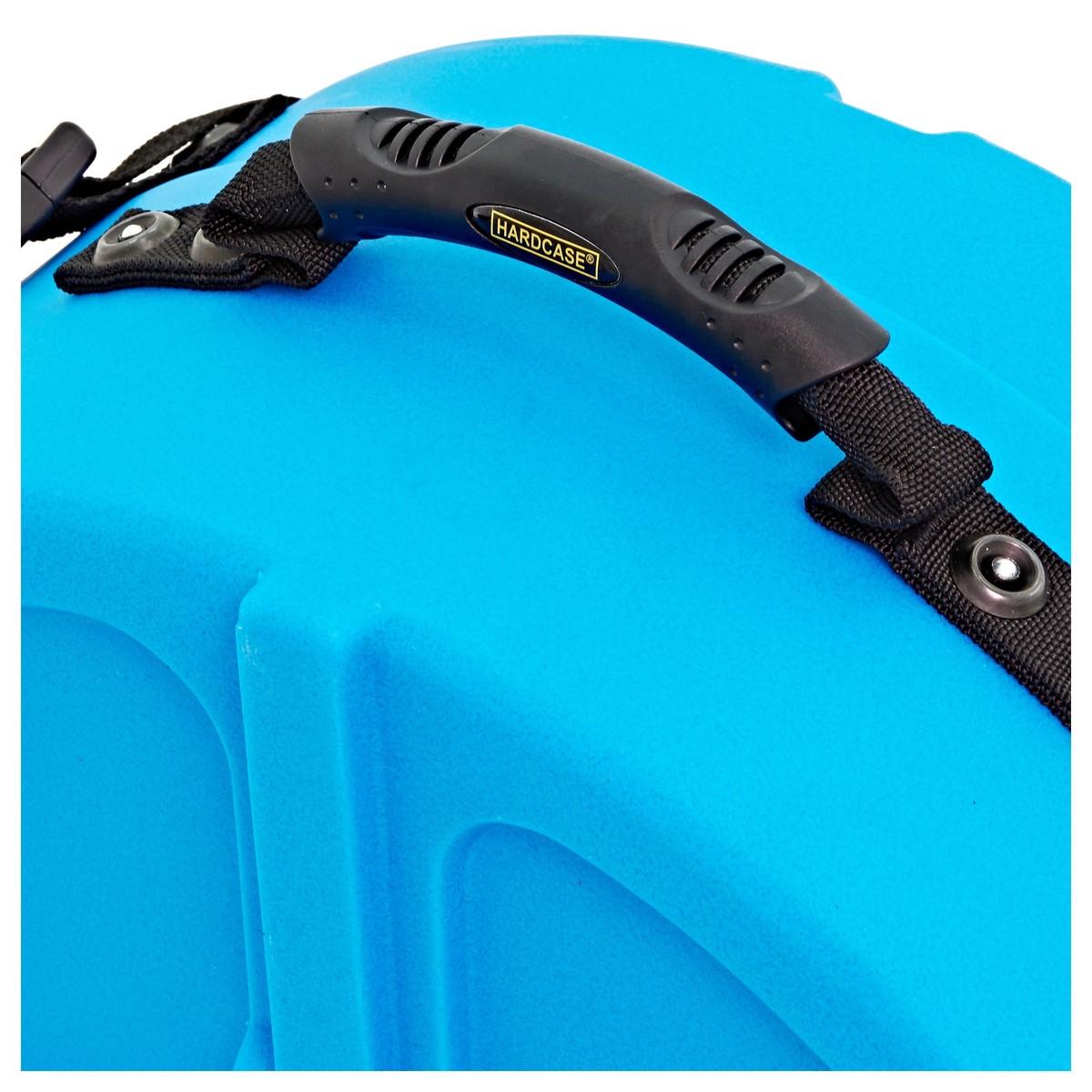 hardcase 14 39 39 snare drum case light blue at gear4music. Black Bedroom Furniture Sets. Home Design Ideas