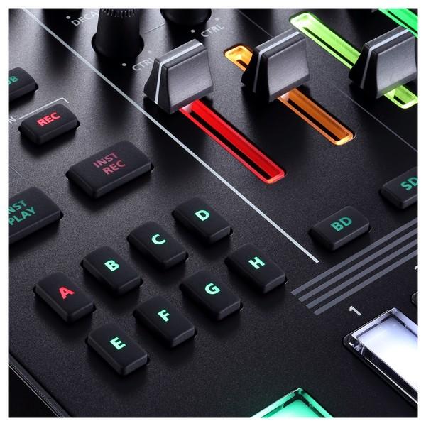 TR-8S Rhythm Performer - Faders Detail