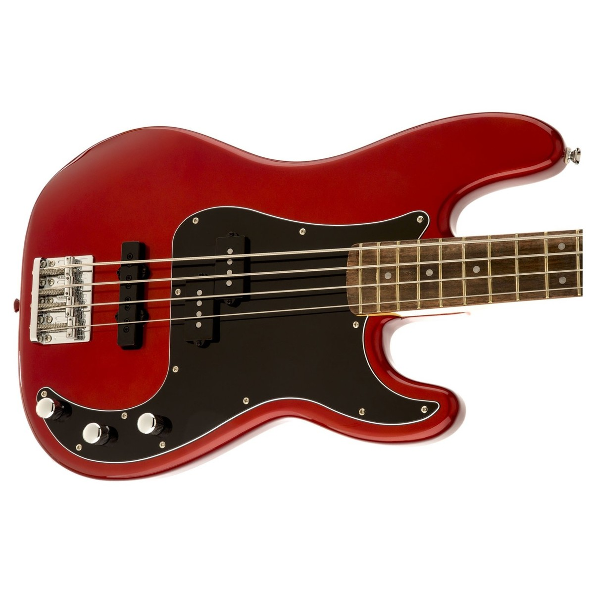 squier vintage modified precision bass pj candy apple red at gear4music. Black Bedroom Furniture Sets. Home Design Ideas