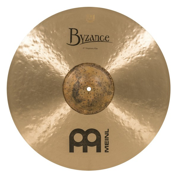"""Meinl B21POR Byzance Traditional 21"""" Polyphonic Ride top"""