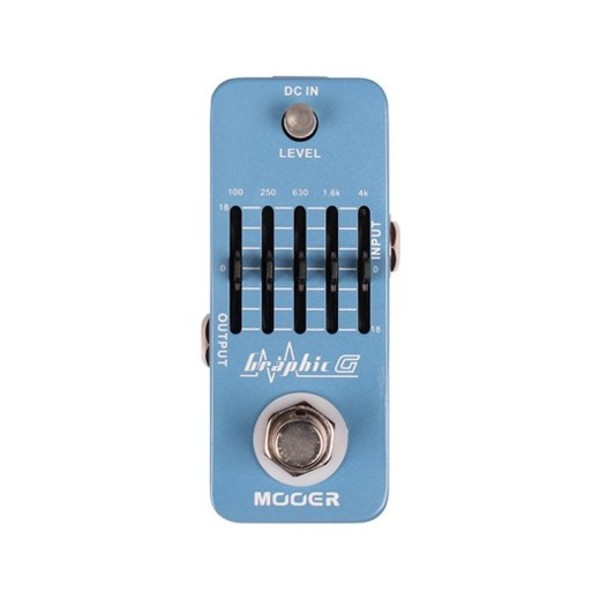 Mooer Micro Graphic EQ Guitar Pedal - front