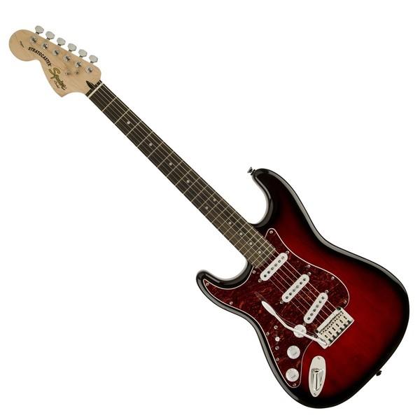 Squier Standard Stratocaster Left Handed, Antique Burst