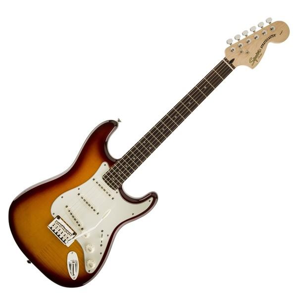 Squier Standard Stratocaster FMT, Amber Transparent