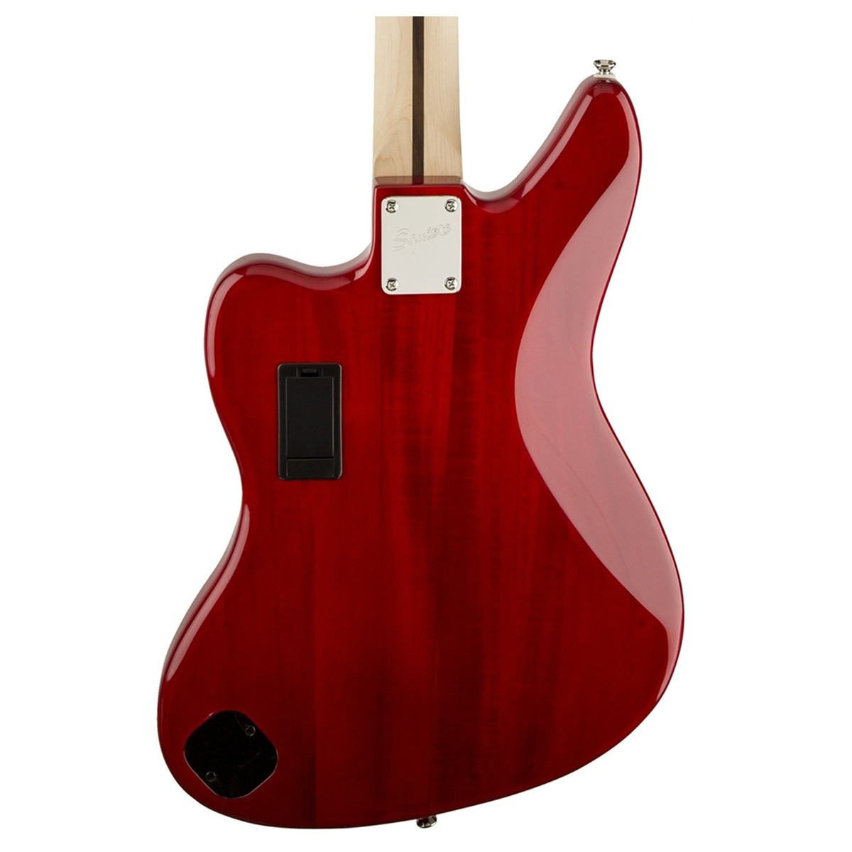 squier vintage modified jaguar bass special crimson red. Black Bedroom Furniture Sets. Home Design Ideas