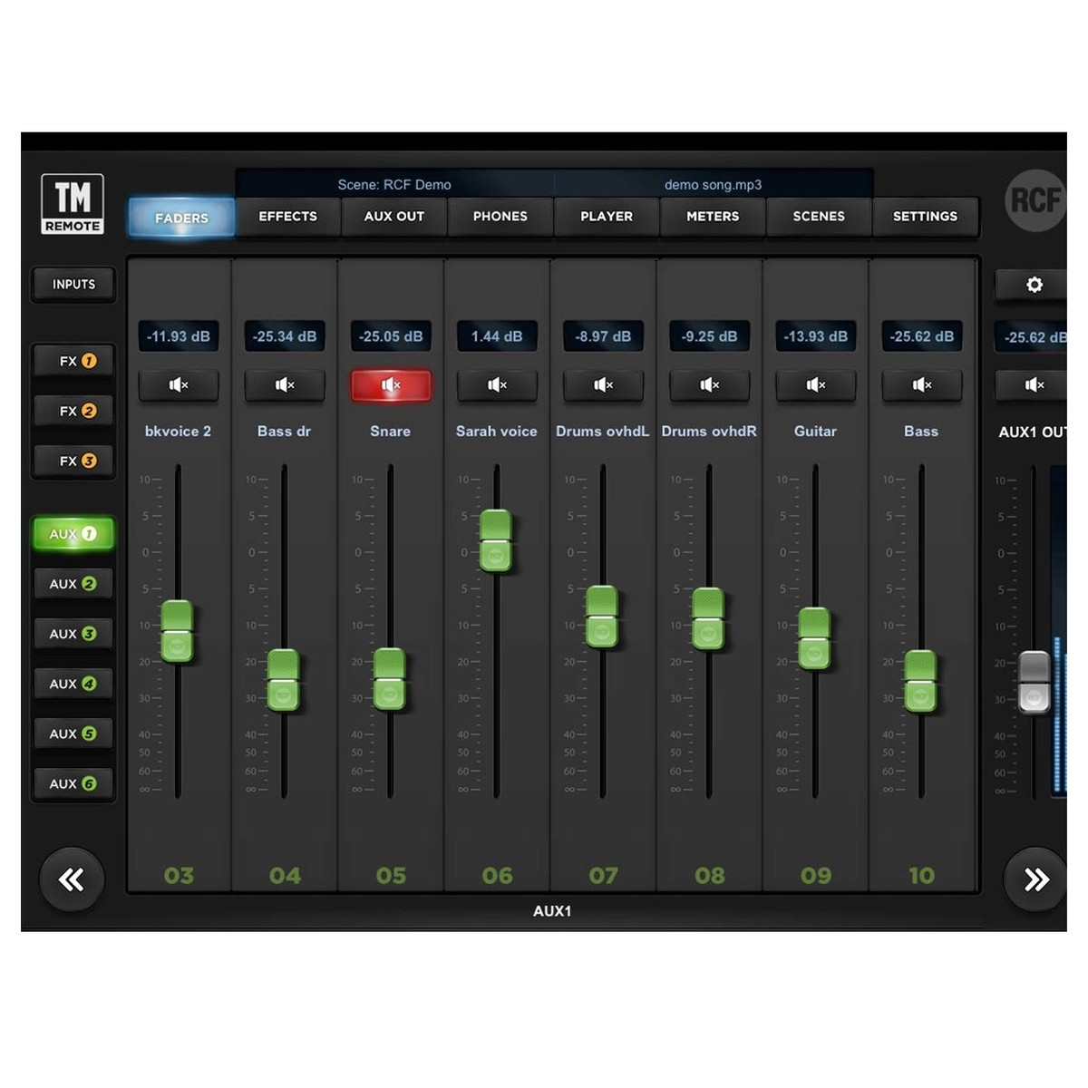 rcf audio m18 digital mixer box opened at gear4music. Black Bedroom Furniture Sets. Home Design Ideas