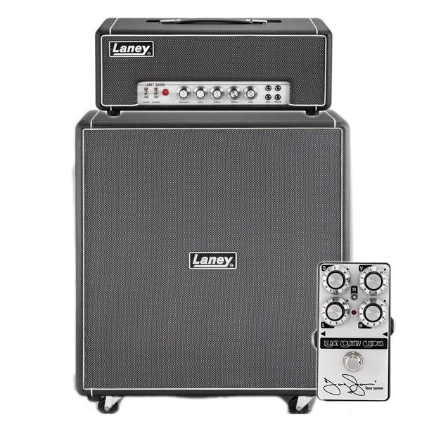 Laney Black Country Customs LA30BL Half Stack w TI Boost
