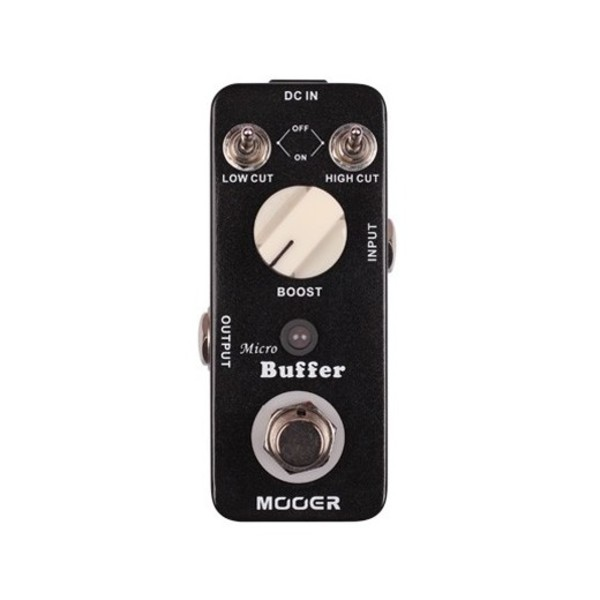 Mooer MMB1 Micro Buffer Pedal - front