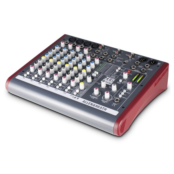 Allen and Heath ZED-10FX USB Compact Stereo Mixer - Main