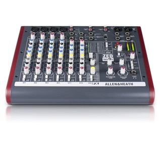 Allen and Heath ZED-10FX USB Compact Stereo Mixer - Front