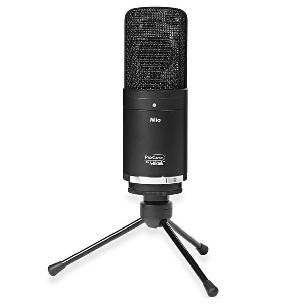 Miktek ProCast MIO USB and XLR Condenser Microphone - Angled