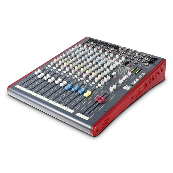 Allen and Heath ZED-12FX USB Compact Stereo Mixer - Main