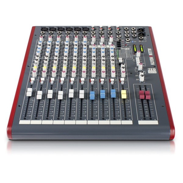 Allen and Heath ZED-12FX USB Compact Stereo Mixer - Front