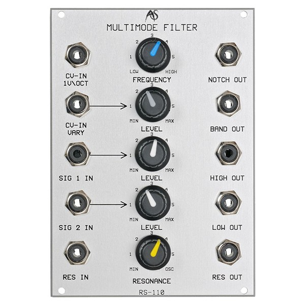 Analogue Systems RS-110 Multiple Mode Filter - Main