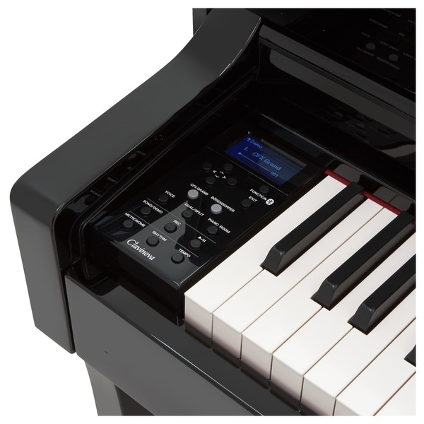 Yamaha CLP 645 Digital Piano, Polished Ebony