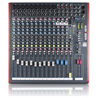 Allen and Heath ZED-16FX Multipurpose USB Mixer with FX - Top