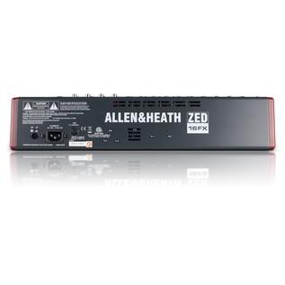 Allen and Heath ZED-16FX Multipurpose USB Mixer with FX - Rear