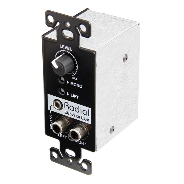 Radial StageBug SB5W Wall-Mounted Stereo Direct Box 2