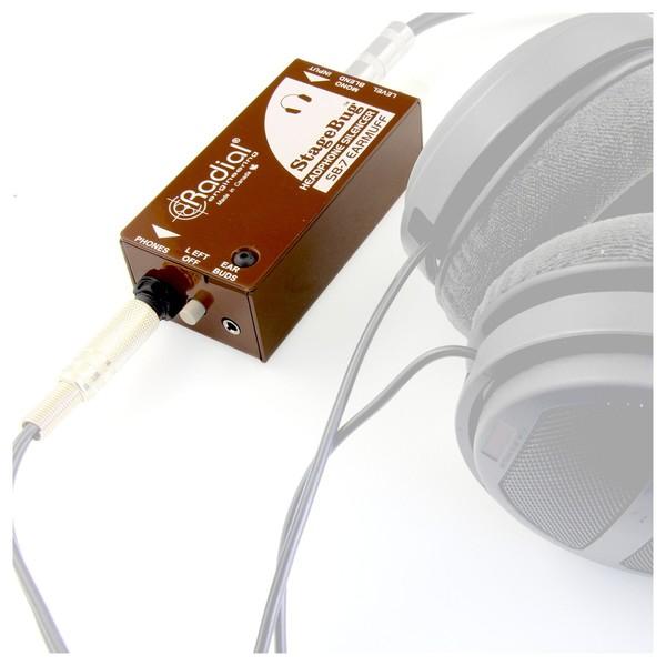 Radial StageBug SB-7 EarMuff Headphone Mute 5