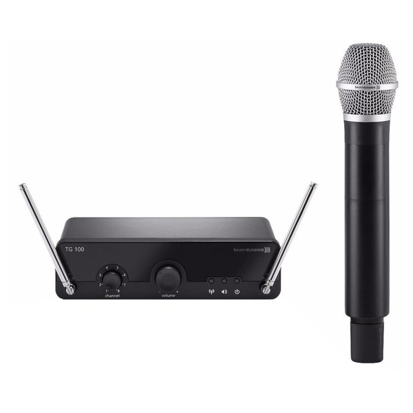 Beyerdynamic TG100H VHF Handheld Wireless Mic System, Band 1 - Main