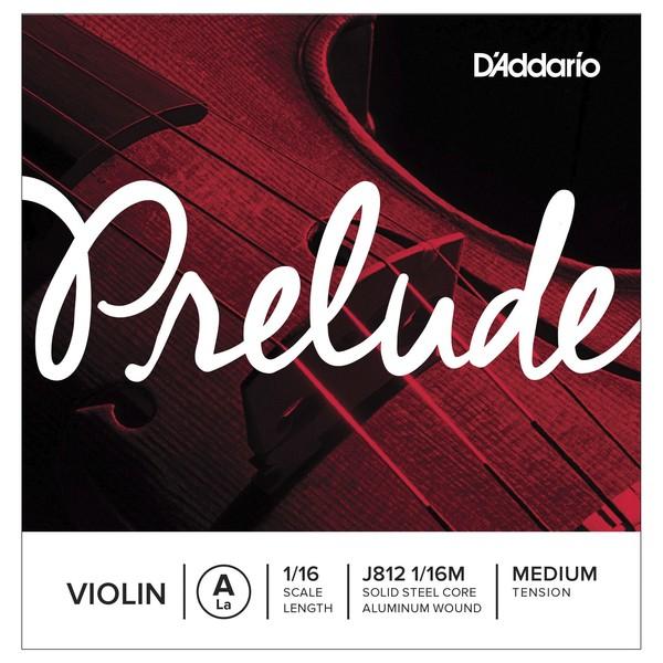 D'Addario Prelude ViolinA String, 1/16 Size, Medium