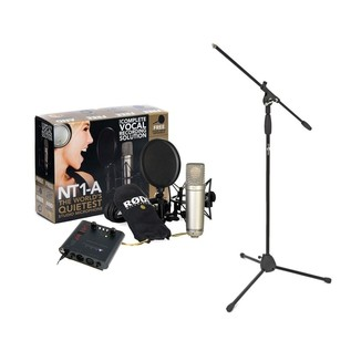 Rode NT1-A Vocal Recording Pack With ART Tube Preamp & Stand - Main