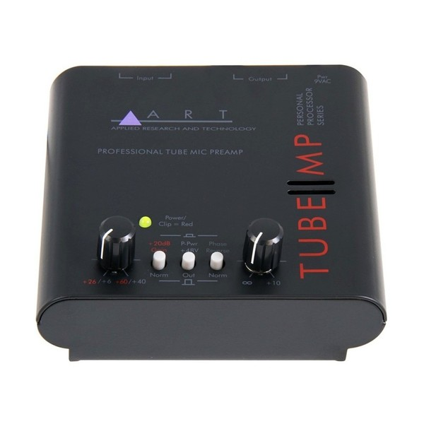 ART Tube MP Mic Preamp - Front