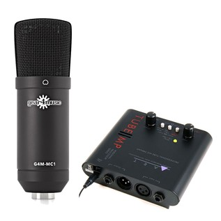 MC1 Condenser Microphone With ART Tube MP Mic Preamp - Main