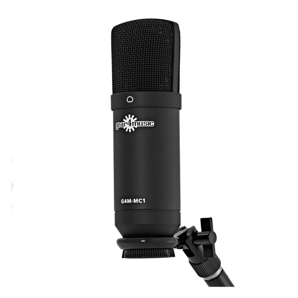 MC1 Condenser Microphone by Gear4music - With Screw-on Clip