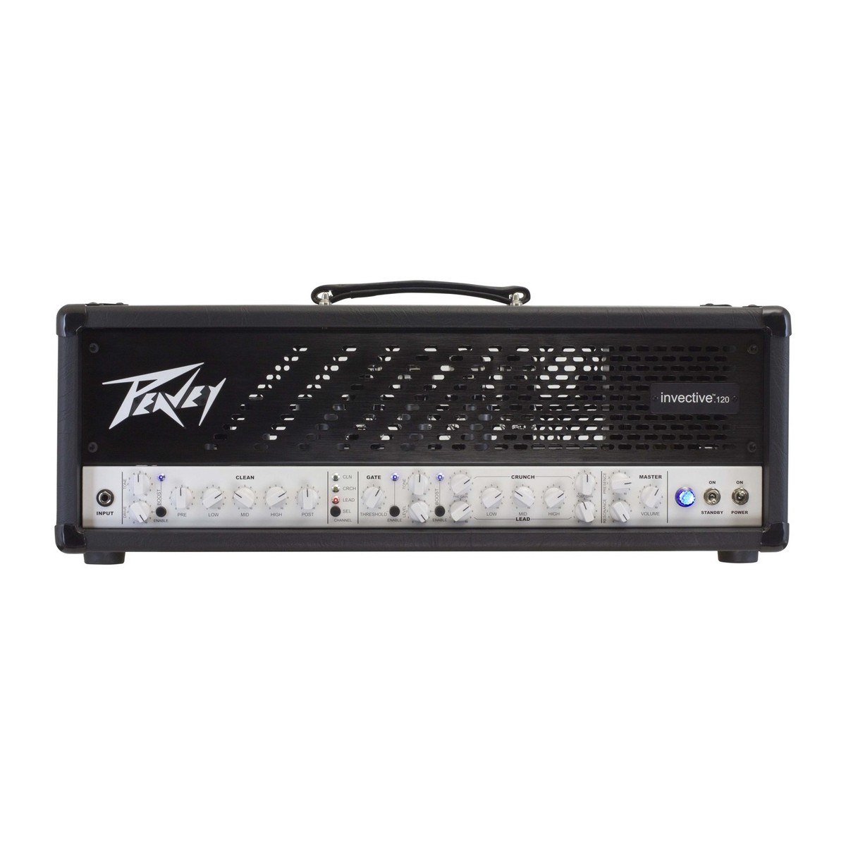 Peavey Invective 120 Guitar Amp Head At Gear4music Electric Pre Amplifier With Noise Gate And Compression Circuit