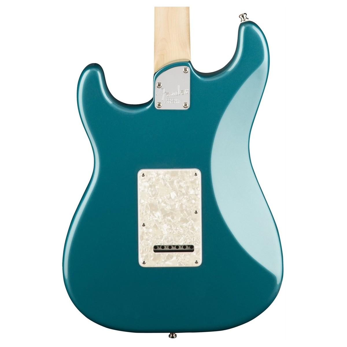 Fender American Elite Strat HSS EB, Ocean Turquoise at Gear4music.com