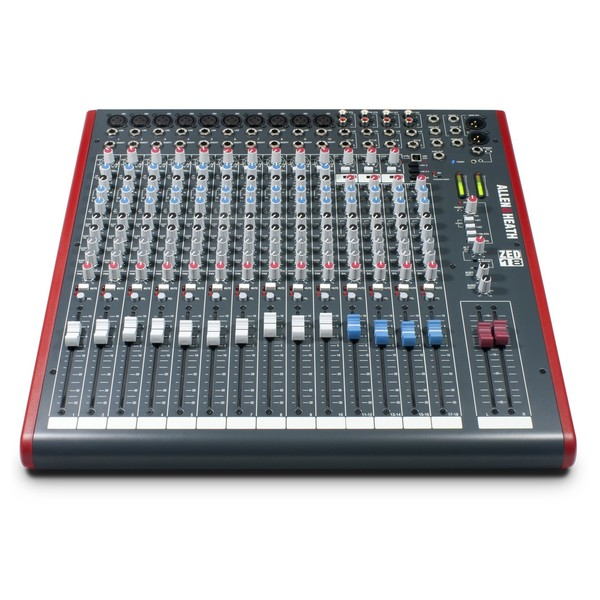 Allen and Heath ZED-18 Analog Mixer With USB - Front
