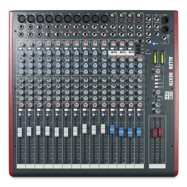 Allen and Heath ZED-18 Analog Mixer With USB - top