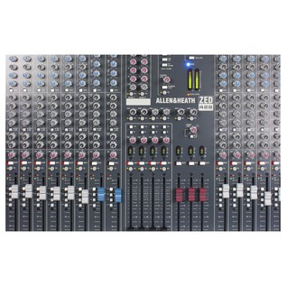 Allen and Heath ZED-428 Analog Mixer With USB - Close Up