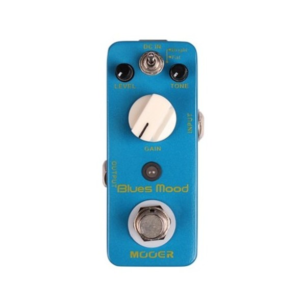 Mooer MDP1 Blues Mood Overdrive Pedal - front
