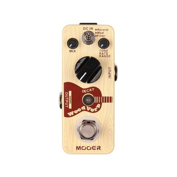 Mooer MRV3 WoodVerb Acoustic Guitar Reverb Pedal