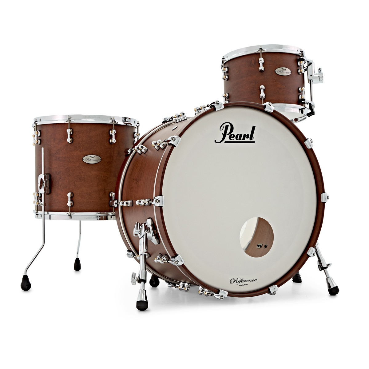 offline pearl reference pure 24 39 39 shell pack matte walnut 700023 at gear4music. Black Bedroom Furniture Sets. Home Design Ideas