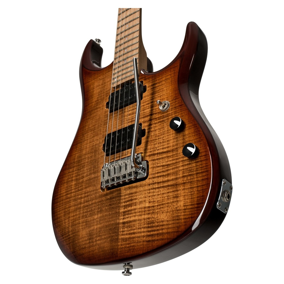 sterling by music man john petrucci jp150 flame maple island burst at gear4music. Black Bedroom Furniture Sets. Home Design Ideas