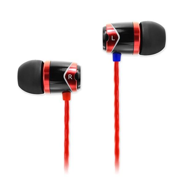 SoundMAGIC E10 In-Ear Headphones, Red - Main