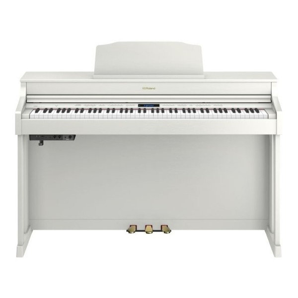 Roland HP603A Digital Piano Package, Contemporary White