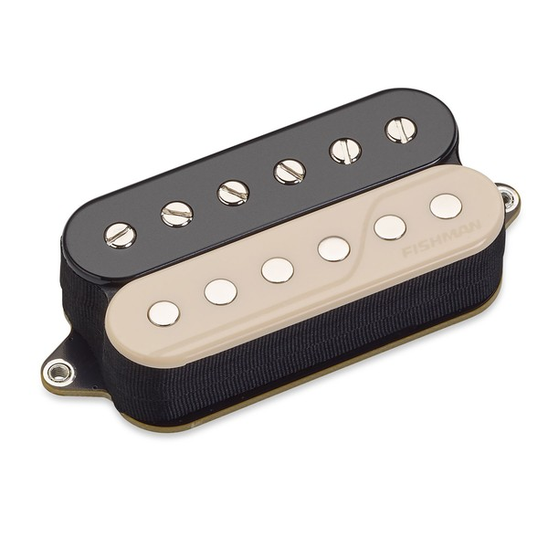 Fishman Fluence Core Classic 6 String Humbucker Bridge, Reverse Zebra