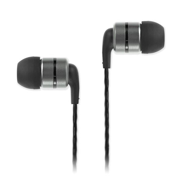 SoundMAGIC E80 In-Ear Headphones, Gunmetal - Main